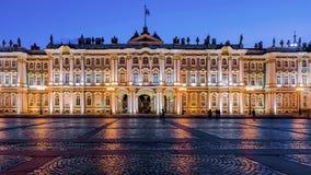 Eremitboning på slottfyrkanten, St Petersburg arkivbild