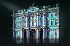 Eremitboning Ryssland, St Petersburg royaltyfria foton