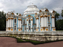 Eremitboningpaviljong i Pushkin Arkivfoton