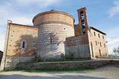Eremo de Montesiepi, Toscânia, Italia Imagens de Stock
