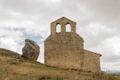 Eremo de San Miguel a ½ n, Spagna del ¿ di Gormaz, Soria, Castiglia-leï Immagine Stock Libera da Diritti