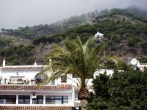 Eremo a Mijas una di villaggi 'bianchi' più bei Fotografia Stock