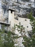 Eremo of San Marco, Ascoli Piceno, Italy Stock Photos