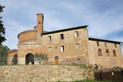 Eremo van Montesiepi, Toscanië, Italië Royalty-vrije Stock Foto
