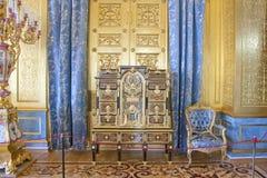 Eremu Złoty żywy pokój zima pałac Zdjęcie Stock