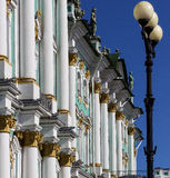 Eremu (zima pałac) St Petersburg Obrazy Royalty Free