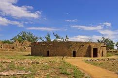 Ererbte Puebloan-Strukturen Stockbilder
