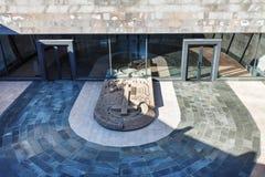 Ereván, Armenia - 26 de septiembre de 2017: Tsitsernakaberd - el monumento y el museo armenios del genocidio en Ereván, Armenia O Imagen de archivo libre de regalías