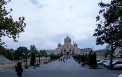 Ereván, Armenia, el 16 de septiembre de 2017: El St Gregory la enfermedad Foto de archivo libre de regalías