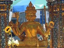 Erewan relikskrin med den fyra vände mot buddhaen Arkivbild