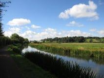 Erewash kanal Arkivbilder
