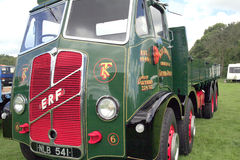 1952 ERF V Type 8 Wheeler truck. Royalty Free Stock Photography
