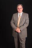 Erfahrene Führungskraft in einem Anzug Stockbild