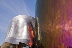 Erfarenhetsmusikprojekt på Seattle - 1 Arkivbild