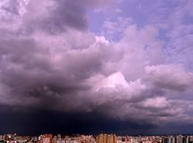 Erfassung des Sturms Lizenzfreie Stockbilder