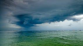 Erfassung des Sturms Lizenzfreies Stockfoto