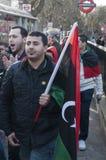 Erfassung von Protestierendern 4 Stockfotos