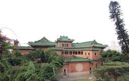 Erfenis Chinees Herenhuis in Panoramamening Stock Afbeeldingen