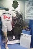 Erfenis van Terry Fox Marathon van Hoop stock afbeelding