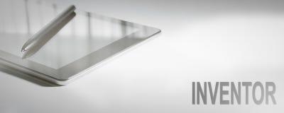 ERFINDER Business Concept Digital-Technologie Lizenzfreie Stockbilder