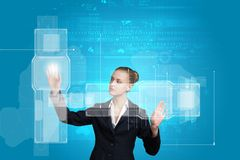 Erfinderische Technologien Stockfoto