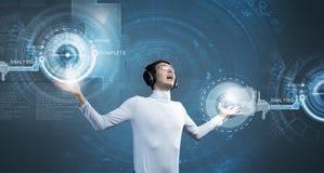 Erfinderische Technologien Stockfotografie