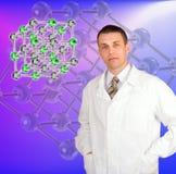 Erfinderisches wissenschaftliches erforscht Lizenzfreies Stockfoto