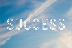 Erfolg Lizenzfreie Stockfotos