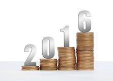 Erfolg 2016 Stockfoto