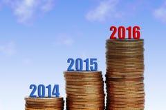 Erfolg 2016 Stockbild