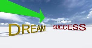 Erfolg auf diese Weise Stockbilder