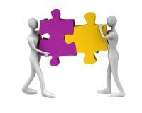 Erfolg der Teamwork Lizenzfreie Stockfotos