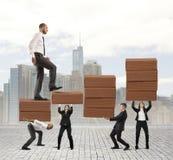 Erfolg der Teamwork Lizenzfreies Stockfoto