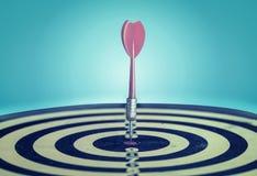 Erfolg, der Zielziel-Zielleistung schlägt lizenzfreie stockfotografie