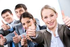 Erfolg im Geschäft Lizenzfreie Stockfotos