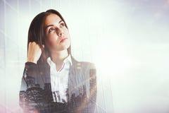 Erfolg und denken Konzept stockbilder