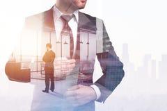 Erfolg und Jobkonzept stockbilder