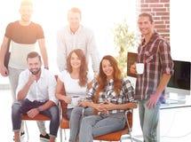Erfolgreiche Angestelltdesign Agentur Lizenzfreies Stockbild