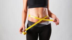 Erfolgreiche Diät Stockbild