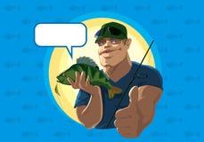 Erfolgreiche Fischer Stockfotografie