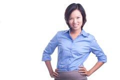 Erfolgreiche Frau Stockfoto