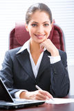 Erfolgreiche Frau lizenzfreie stockfotografie
