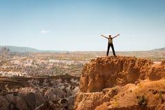 Erfolgreiche Frau Konzeptmotivation, Inspiration stockfotos