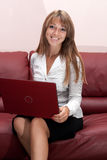 Erfolgreiche Geschäftsfrau Stockfotografie