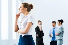 Erfolgreiche Geschäftsfrau Lizenzfreies Stockbild