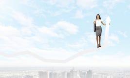 Erfolgreiche Geschäftsfrau Lizenzfreies Stockfoto