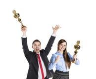 Erfolgreiche Geschäftskollegen Lizenzfreies Stockfoto