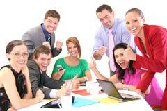 Erfolgreiche Geschäftsleute Lizenzfreies Stockfoto