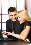 Erfolgreiche Geschäftsleute Lizenzfreie Stockbilder