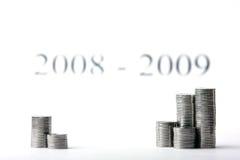 Erfolgreiche Investierung lizenzfreies stockbild